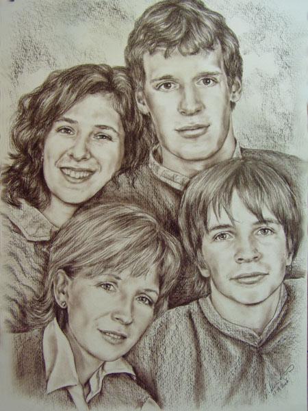 Portrety Portrety Kreslim Na Objednavku